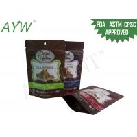 China FDA Food Packaging Bags Plastic Laminated Scent Proof Doypack For Bean / Jujube on sale