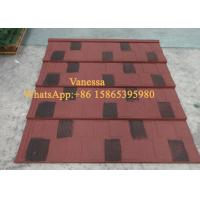 Cheap 5 Wave Shingle Tile size 1170*420mm Thickness JC108 Forest Green Wind Resistance for sale