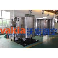 Tableware / Sanitary Ware Vacuum Metalizing Machine With DC Magnetron Sputtering Coating
