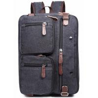 Best Iron Grey Polyester Laptop Bag With Pockets Drop Resistance Large Capacity wholesale