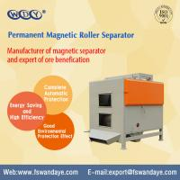 Cheap Dry Type Magnetic Roller Separator / Permanent Magnetic Separator For Minerals for sale