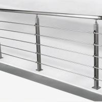 Best Solid Rod Stainless Steel Railing Design for Balcony / Stairs wholesale