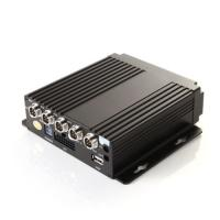 Best 4 Channel HD Vehicle Mobile DVR Car Video Recorder Support 2.5 Sata HDD Card wholesale