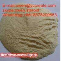 China Light Yellow Crystalline Trenbolone Acetate Muscle Building Supplements For Men on sale