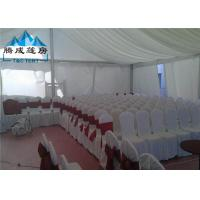 Best Clear Span Structure Wedding Event Tents Hot - DIP Galvanized For 500 People wholesale