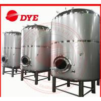 Best 1500L Vertical SS Bright Beer Tank Flat Bottom , Jacketed Fermentation Tank wholesale