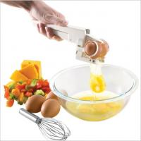 China Separate Egg Whites EZ Cracker Egg Cracker with Separator Hot sale cooking tool cracker commercial egg white and yolk se on sale
