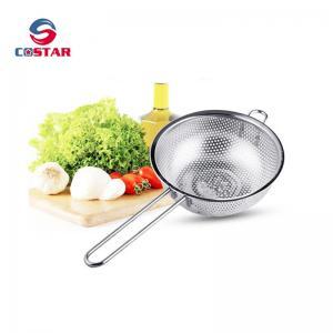 Best Kitchen Strainer Colander Basket - Fine Mesh Net Quality Stainless Steel Kitchen Sieve Strainer, Draining, Salad and Noo wholesale