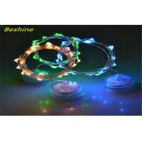 China Mini Led Submersible Copper Wire Wedding String Light Operated By 2pcs Cr2032 Cell Battery on sale