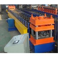 China Galvanized Steel Sheet Highway Guardrail Roll Forming Machine For Roadway Safety on sale