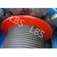 Best Customized 8 Ton Load Offshore Winch 50 Meter With Lebus Grooving For Digging Well wholesale