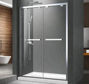 Best Easily DIY Installation Aluminum Shower Enclosure , Shower Aluminum Frame wholesale