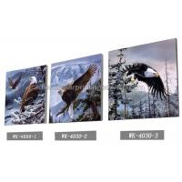Best Frameless PET 3d Lenticular Image / Animal 3d Lenticular Christmas Cards For Decoration wholesale