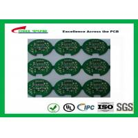 Best 2 Layer Lead Free HASL Custom Printed Circuit Board PCB Material FR4 1.6MM Green Solder Mask wholesale