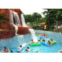 Best Theme Park Water Park Lazy River Floating Raft Leisure Pool 2-5m Width wholesale