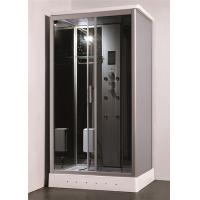 Cheap Residential Steam Shower Bath Cabin Multi Jet Shower Enclosures With FM Radio Function for sale