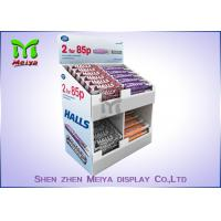 Best Recycled Rotating Counter Top Display Stands , Hook Display Rack Eco Friendly wholesale