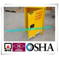 Quality 4 GAL Small Industrial Safety Cabinets With Door For Chemical Flammable Liquids wholesale