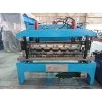 Quality 0.6mm Glazed Steel Sheet Roof Tile Forming Machine Hydraulic Decoiler 5 Tons wholesale