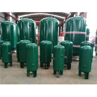 Best 400 Gallon Vertical Industrial Compressed Air Receiver Tanks High Temperature Resistant wholesale