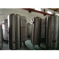Best 80 Gallon Stainless Steel Compressor Air / Gas Storage Tanks 1.0MPa Pressure wholesale