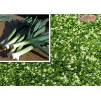 China Natural Green Dehydrated Vegetable Flakes Leek / Onion Flakes First Grade on sale