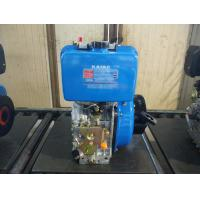 Best Electric Starter Single Cylinder Diesel Engine , Small Air Cooled Engines wholesale