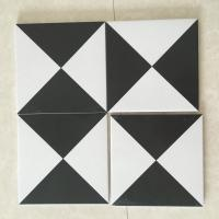 Buy cheap AAA Grade Ceramic Kitchen Floor Tiles For Decoration Mix Black White Color from wholesalers
