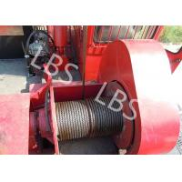 Best Oil Field Downhole Operation Offshore Winch Workover Rig Winch Steel Wire Rope wholesale