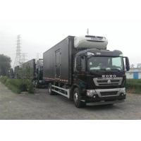 Best Professional Refrigerated Closed Van Truck White / Red / Black Freezer Box Truck wholesale