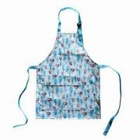 Best PVC/polyester/cotton waterproof/antifouling apron for Kitchen wholesale