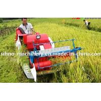 4LZ-0.8 without tail pulley mini muddy field applicable wheat combine harvester WHATSAPP:+86-18006107858