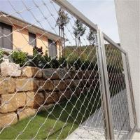 Best AISI316 rust-proof x-tend cable wire mesh railing guard wholesale