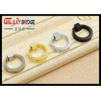 Buy cheap Gold Retro Ring Pulls chrome  Doo Handles Black Simple  Furniture  Hardware Fittings from wholesalers