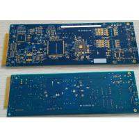"Best 6 Layers Rigid FR4 Rapid Prototyping PCB ENIG Surface Hard Plating Gold Finger 10u"" wholesale"