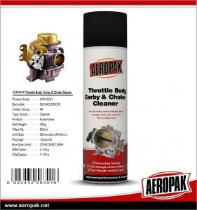 Best Aeropak 500ml Car Carburator Cleaner Spray LPG Propellant wholesale