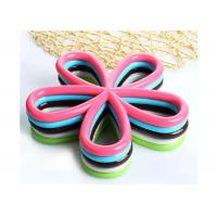 Best Fashion Flower Shape Kitchen Table Mats Heat Resistant Food Grade Silicone wholesale