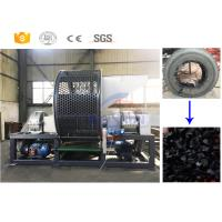 Best Double Shaft Used Tyre Recycling Machine for Producing Rubber Granules Cost wholesale