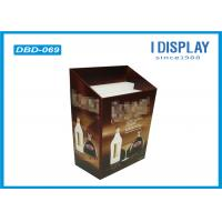 China Cardboard Dump Bin Display , Stackable Wine Corrugated Display Stand on sale