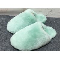 Best 100% Handmade Durable Sheep Wool Slippers Soft Dyed Colors For Toddler / Adults wholesale