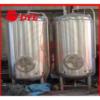 Best Semi-Automatic Small Home Bright Beer Tanks For Wine 1 - 3 Layers wholesale