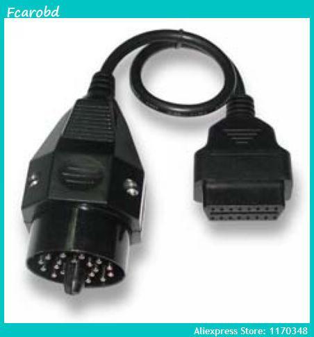 fcarobd BMW 20Pin to obd2 16Pin Diagnostic Connector Cables