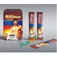 China Original Maxman Male Enhancement Coffee Herbal Food Supplement Healthy Drink on sale