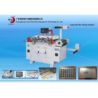 Automatic Feeding Film Paper Roll Die Cutting Machine With Punching / Conveyor Belt