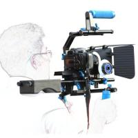 Cheap Dslr rig movie kit with shoulder mount+Hand Grip+Follow Focus+Matte BoxFor for sale