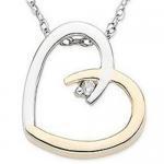 Best White Gold Diamond Heart Pendant wholesale