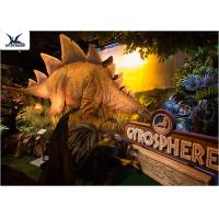 Animatronic Realistic Light Giant Dinosaur Statue For Indoor Decoration