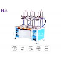 Quality Transparent Cylinder Edge Beading Machine For PVC Tube Edge Curling 3 Curl Heads 8S / PCS wholesale