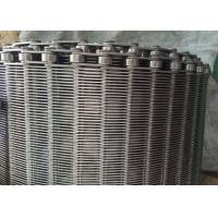 Cheap Stainless Steel Flexible Flat Wire Mesh Conveyor Belt For Bread Industry for sale