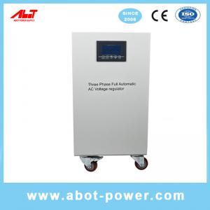 Best ABOT 3 Phase SVC TND Servo Type Voltage Regulator AVR 20KVA For CNC Machine wholesale